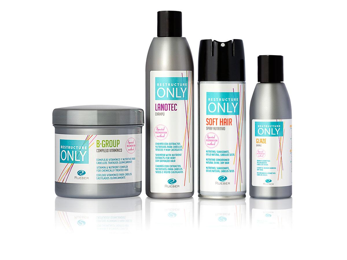 Restructure Only, método regenerador para todo tipo de cabellos